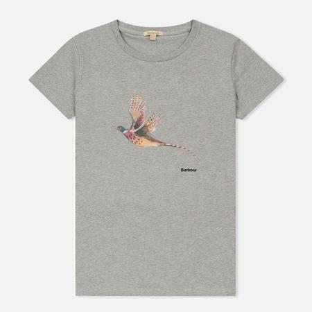 Женская футболка Barbour Elsdon Light Grey