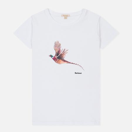 Женская футболка Barbour Elsdon White