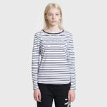 Женская футболка Barbour Faeroe White/Navy фото- 1