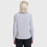 Женская футболка Barbour Faeroe White/Navy фото- 3