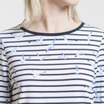 Женская футболка Barbour Faeroe White/Navy фото- 2