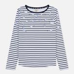 Женская футболка Barbour Faeroe White/Navy фото- 0