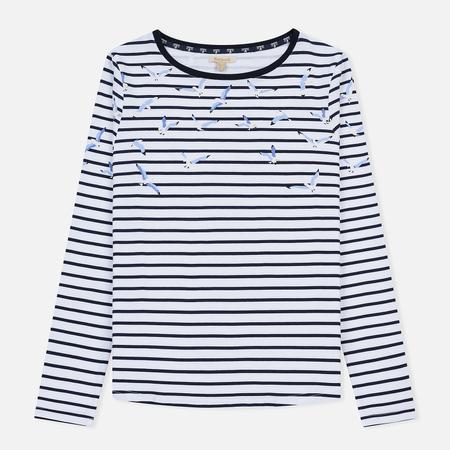 Женская футболка Barbour Faeroe White/Navy