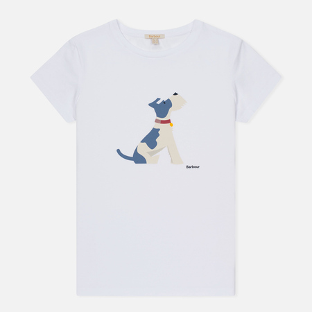 Женская футболка Barbour Gilliflower White