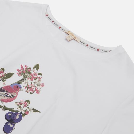 Женская футболка Barbour Haley White