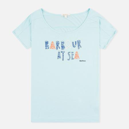 Barbour Harewood Women's t-shirt Aqua