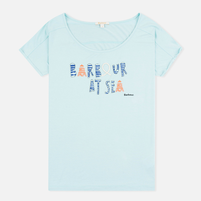 Barbour Harewood Women's t-shirt Aqua