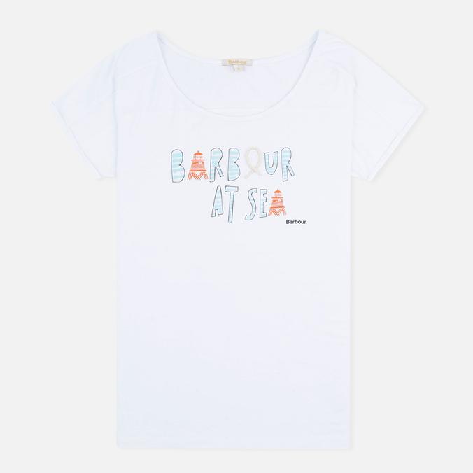 Женская футболка Barbour Harewood White