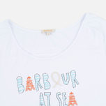 Женская футболка Barbour Harewood White фото- 1