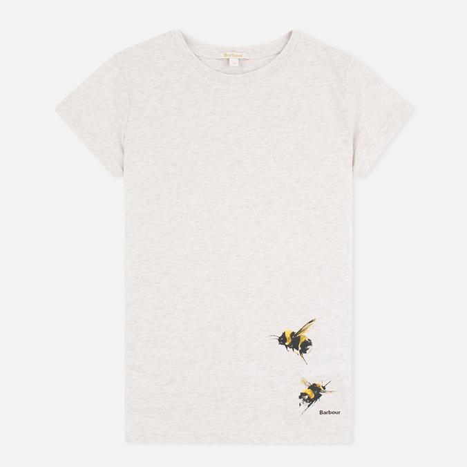 Женская футболка Barbour Herteron Parchment