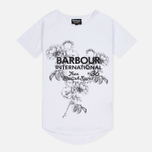 Женская футболка Barbour International Chicane White фото- 0