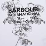 Женская футболка Barbour International Chicane White фото- 2