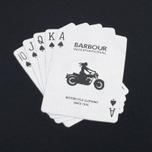 Barbour International Hairpin Women's t-shirt Royal Flush Black photo- 2