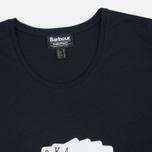 Barbour International Hairpin Women's t-shirt Royal Flush Black photo- 1
