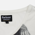 Женская футболка Barbour International Pannier White фото- 3