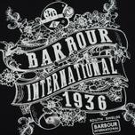 Женская футболка Barbour International Riser Black фото- 2