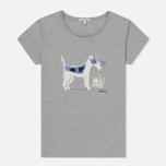Женская футболка Barbour Laurel Light Grey Marl фото- 0
