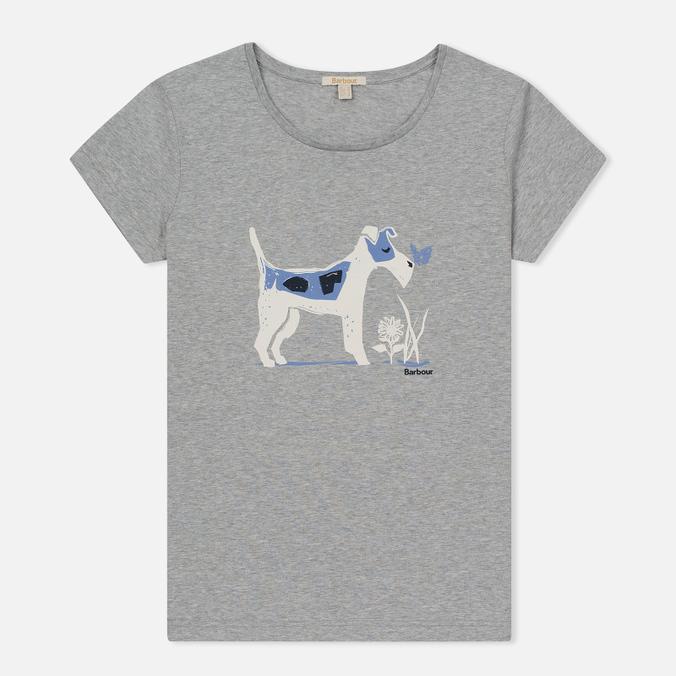 Женская футболка Barbour Laurel Light Grey Marl