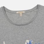 Женская футболка Barbour Laurel Light Grey Marl фото- 1