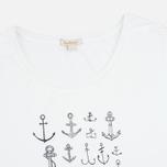 Barbour Maryport Women's t-shirt White photo- 1