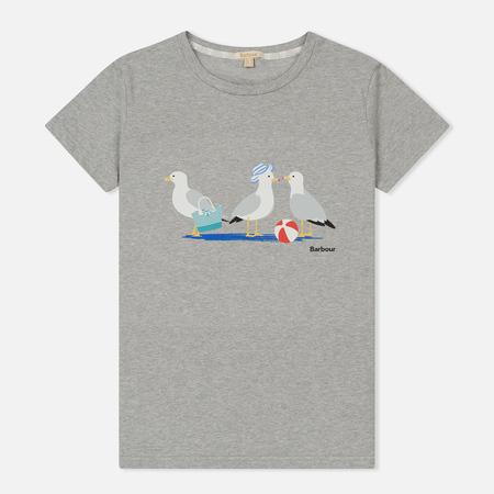 Женская футболка Barbour Pembrey Light Grey
