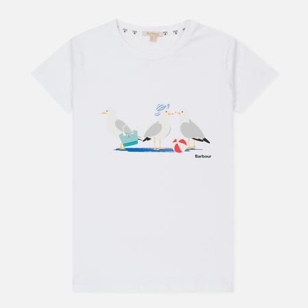 Женская футболка Barbour Pembrey White