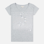Barbour Reninshaw Seagull Women's t-shirt Grey Marl photo- 0