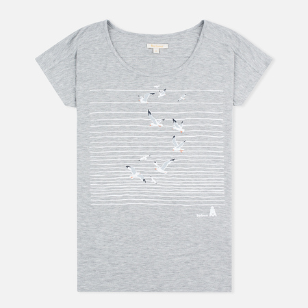 Barbour Reninshaw Seagull Women's t-shirt Grey Marl