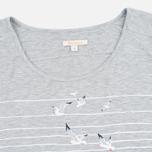 Barbour Reninshaw Seagull Women's t-shirt Grey Marl photo- 1