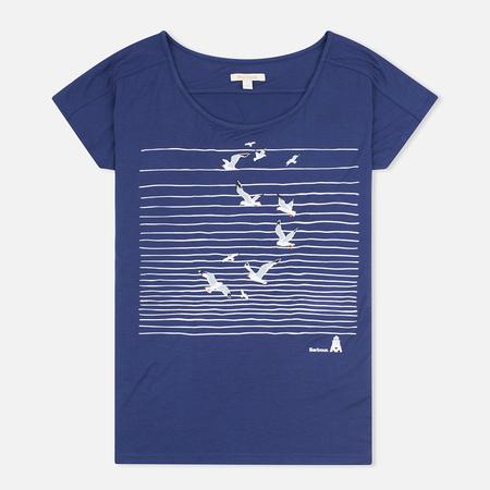 Женская футболка Barbour Reninshaw Seagull Naval Blue