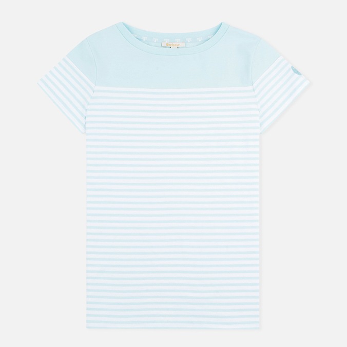 Barbour Teesport Women's T-shirt Aqua