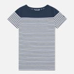 Женская футболка Barbour Teesport Top Navy фото- 0