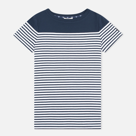 Женская футболка Barbour Teesport Top Navy