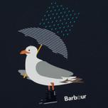 Женская футболка Barbour Umbrella Seagull Navy фото- 2