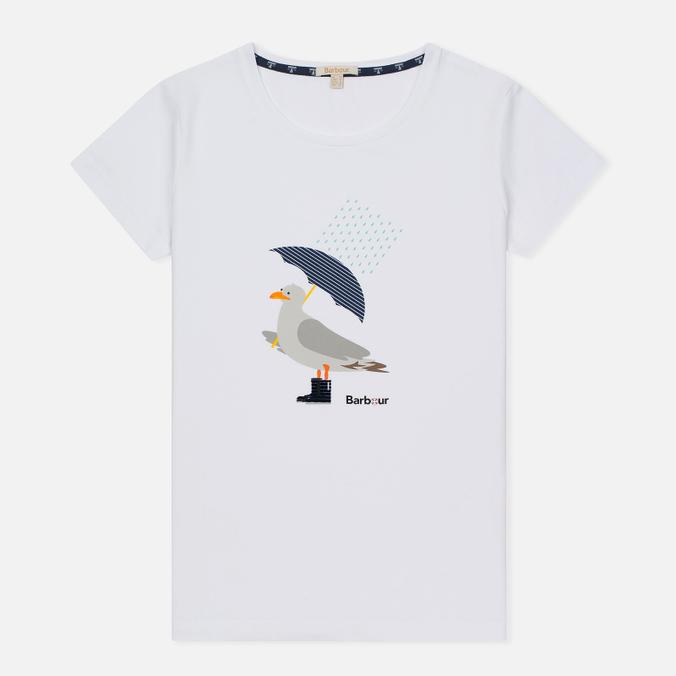Женская футболка Barbour Umbrella Seagull White