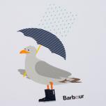 Женская футболка Barbour Umbrella Seagull White фото- 2