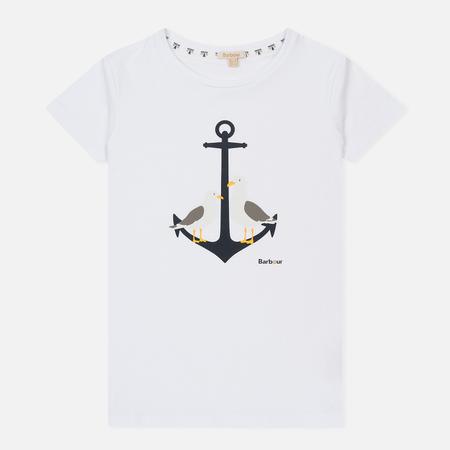 Женская футболка Barbour Whitmore White