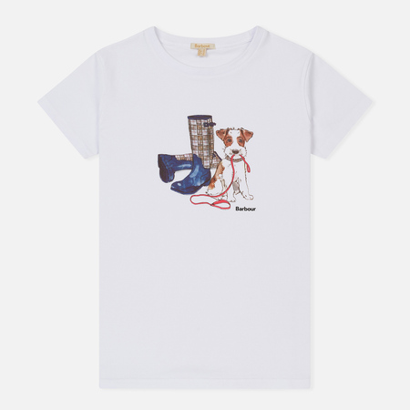Женская футболка Barbour Wylam White