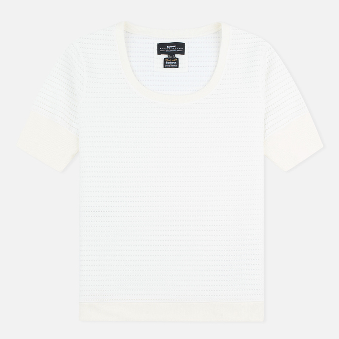 Barbour x Land Rover Wadeline Top Women's t-shirt White