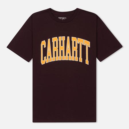Женская футболка Carhartt WIP W' Carrie Division Damson