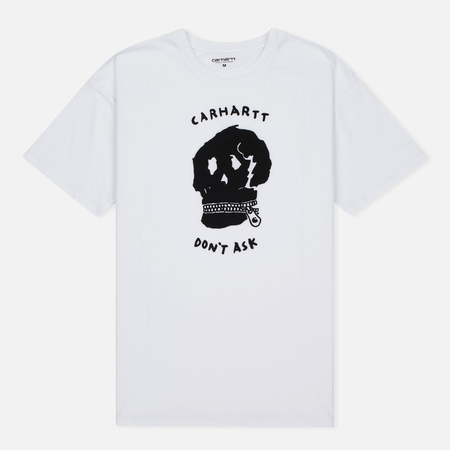 Женская футболка Carhartt WIP W' Carrie Don't Ask White/Black