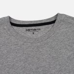 Женская футболка Carhartt WIP W' Carrie Grey Heather/Black фото- 1