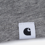 Женская футболка Carhartt WIP W' Carrie Grey Heather/Black фото- 2