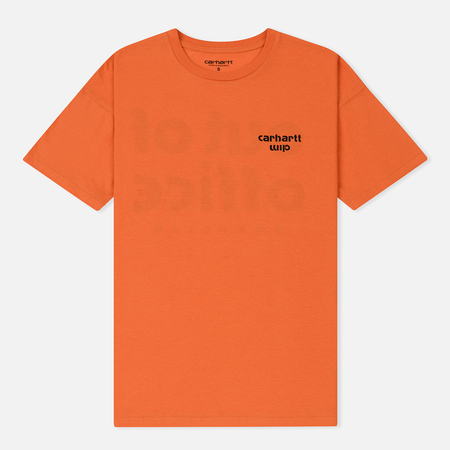 Женская футболка Carhartt WIP W' Carrie Office Jaffa/White