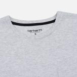 Женская футболка Carhartt WIP W' Carrie Pocket Ash Heather/Black фото- 1