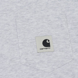 Женская футболка Carhartt WIP W' Carrie Pocket Ash Heather/Black фото- 2