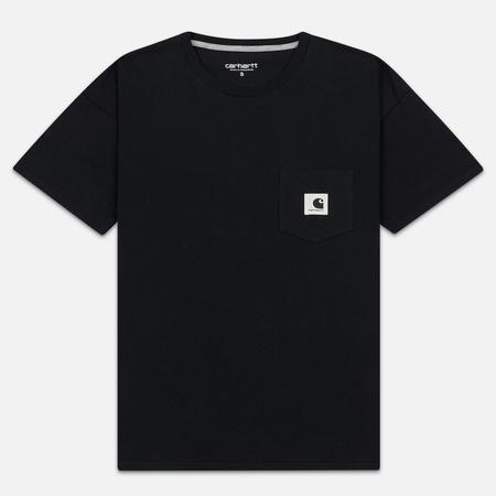 Женская футболка Carhartt WIP W' Carrie Pocket Black/Grey Heather