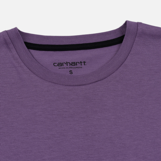 Женская футболка Carhartt WIP W' Carrie Pocket Dusty Mauve/Black