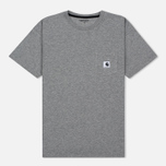 Женская футболка Carhartt WIP W' Carrie Pocket Grey Heather/Black фото- 0