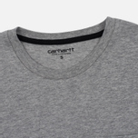 Женская футболка Carhartt WIP W' Carrie Pocket Grey Heather/Black фото- 1